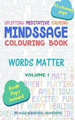 Mindssage Colouring Book Travel Size