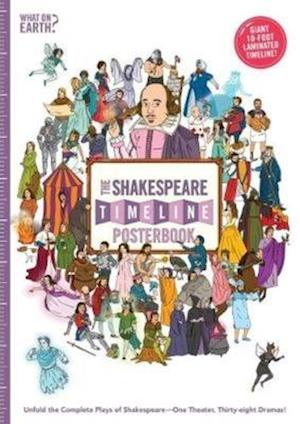 Bog, paperback The Shakespeare Timeline Posterbook af Christopher Lloyd