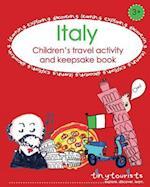 Italy! Children's Travel Activity and Keepsake Book