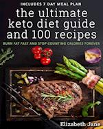 The Ultimate Keto Diet Guide & 100 Recipes: Burn Fat Fast & Stop Counting Calories Forever af Elizabeth Jane