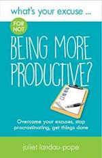 What's Your Excuse for not Being More Productive? (Whats Your Excuse, nr. 7)