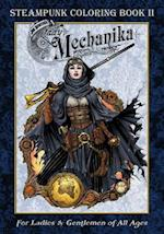 Lady Mechanika Steampunk Coloring Book Vol 2