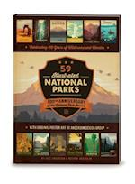 59 Illustrated National Parks - Hardcover