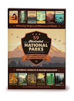 59 Illustrated National Parks - Softcover