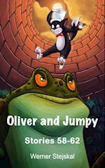 Childrens stories: Oliver and Jumpy - the Cat Series, Stories 58-62, Book 20