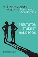 Peer Tutor Student Handbook