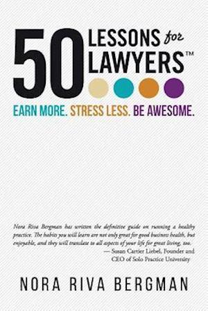 Bog, paperback 50 Lessons for Lawyers af Nora Riva Bergman