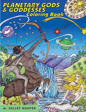 Planetary Gods and Goddesses Coloring Book