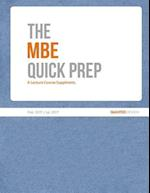 The MBE Quick Prep (2017)