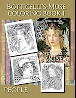 Botticelli's Muse Coloring Book 1 (Botticellis Muse Coloring Books, nr. 1)