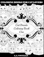 Cat Breeds Coloring Book One af L. a. Vocelle