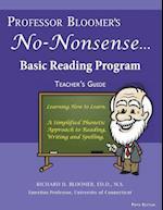 Professor Bloomer's No-Nonsense Reading Program