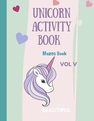 Mazes Unicorn for Kids
