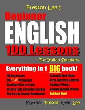 Preston Lee's Beginner English 100 Lessons For Italian Speakers