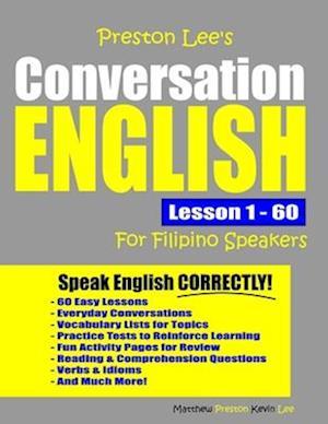 Preston Lee's Conversation English For Filipino Speakers Lesson 1 - 60