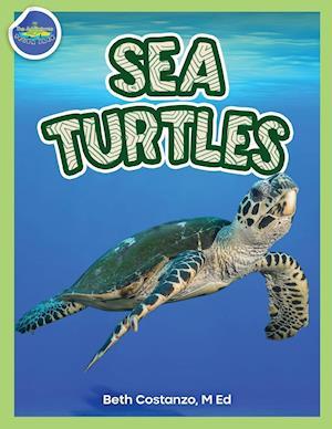 Sea Turtles Activity Workbook ages 4-8