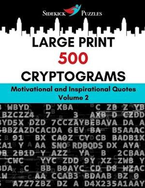 Large Print 500 Cryptograms
