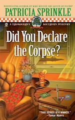 Did You Declare the Corpse? af Patricia Sprinkle