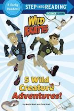 5 Wild Creature Adventures! (Step Into Reading)
