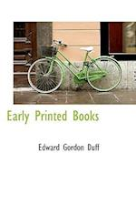 Early Printed Books af Edward Gordon Duff