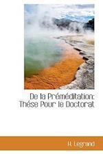 de La Premeditation af H. Legrand