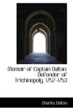 Memoir of Captain Dalton af Charles Dalton