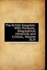 The British Essayists af Lionel Thomas Berguer