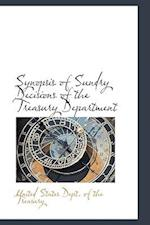 Synopsis of Sundry Decisions of the Treasury Department af United States Dept. Of The Treasury