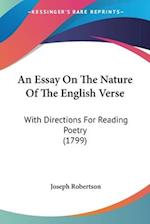 An Essay on the Nature of the English Verse af Joseph Robertson