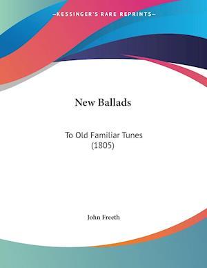 Bog, paperback New Ballads af John Freeth