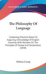 The Philosophy of Language af William Cramp