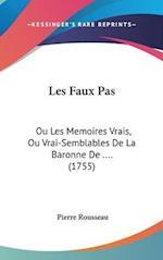 Les Faux Pas af Pierre Rousseau