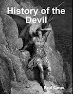 History of the Devil af Paul Carus