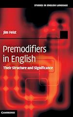 Premodifiers in English (Studies in English Language)