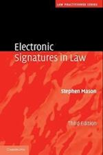 Electronic Signatures in Law af Stephen Mason