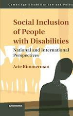 Social Inclusion of People with Disabilities (Cambridge Disability Law and Policy Series)