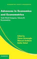 Advances in Economics and Econometrics (Econometric Society Monographs, nr. 51)