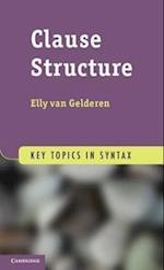 Clause Structure af Elly Van Gelderen