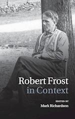 Robert Frost in Context af Mark Richardson