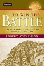 To Win the Battle af Robert Stevenson