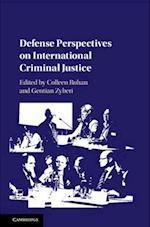 Defense Perspectives on International Criminal Justice