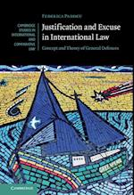 Justification and Excuse in International Law (Cambridge Studies in International And Comparative Law, nr. 130)