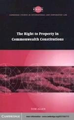 Right to Property in Commonwealth Constitutions