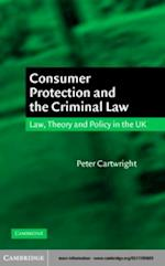 Consumer Protection and the Criminal Law