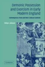 Demonic Possession and Exorcism in Early Modern England af Philip C Almond