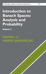 Introduction to Banach Spaces: Analysis and Probability (CAMBRIDGE STUDIES IN ADVANCED MATHEMATICS, nr. 167)