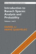 Introduction to Banach Spaces (CAMBRIDGE STUDIES IN ADVANCED MATHEMATICS)