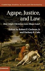 Agape, Justice, and Law (Law and Christianity)