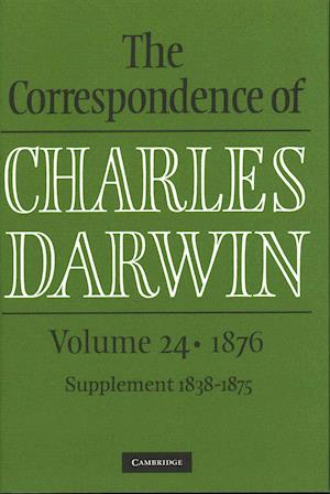 Bog, hardback The Correspondence of Charles Darwin: Volume 24, 1876 af Charles Darwin
