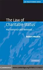 Law of Charitable Status (Law Practitioner Series)